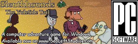 [Sleuthhounds the The Yuletide Tail is available for puchase now!]